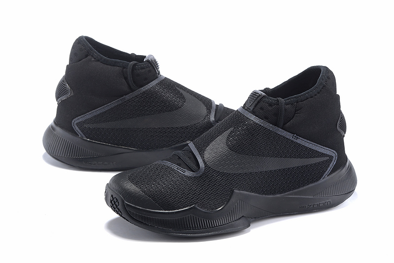 2016 Nike HyperRev 2016 All Black Sneaker