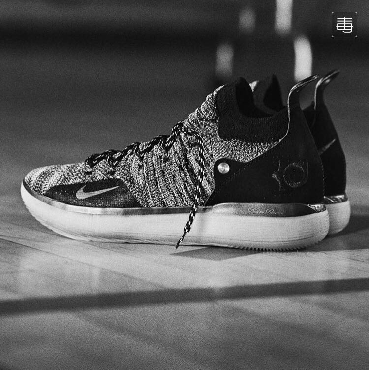 2018 KD 11 Black Grey Shoes For Sale