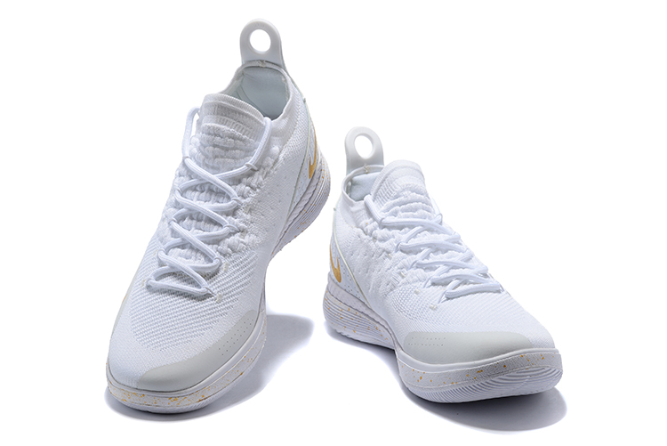 2018 KD 11 EP White Gloden Storm Shoes For Sale