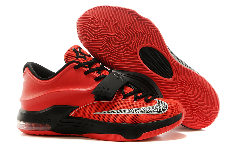 Nike KD 7 Red Black Basketball Shoes