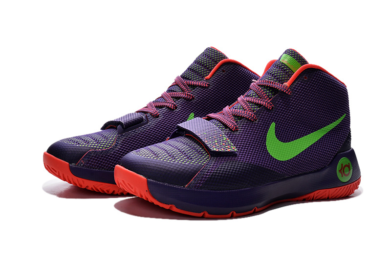 Nike Kevin Durant Trey 5 III Purple Orange Green Sneaker