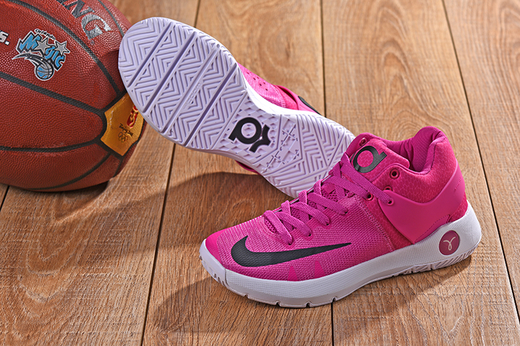 2018 KD Trey 5 Pink White Shoes For Sale