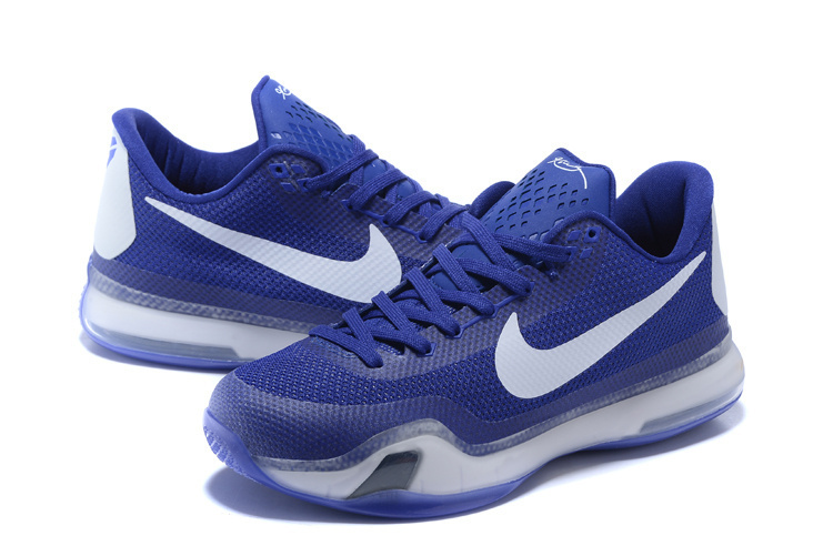 New Nike Kobe 10 Royal Blue Sneaker