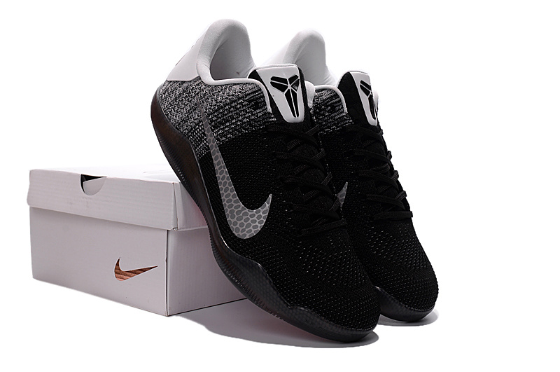 Nike Kobe 11 Knit Beethoven Black Basketball Shoes