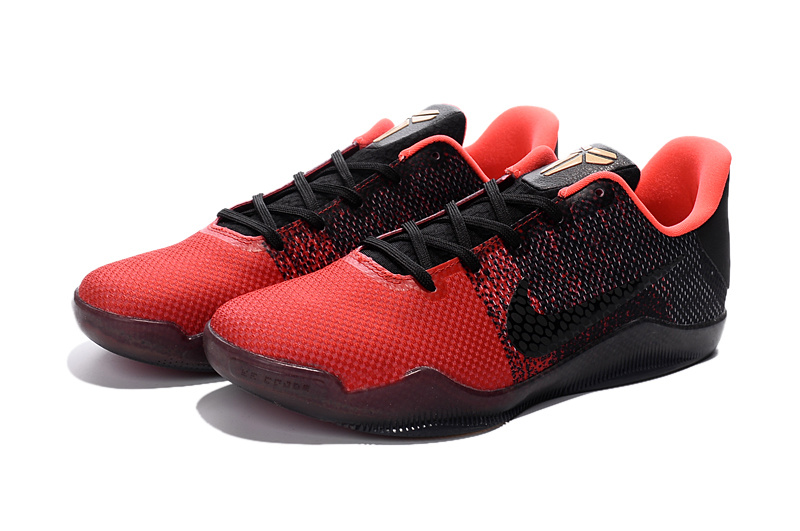 New Nike Kobe 11 Red Black For Sale