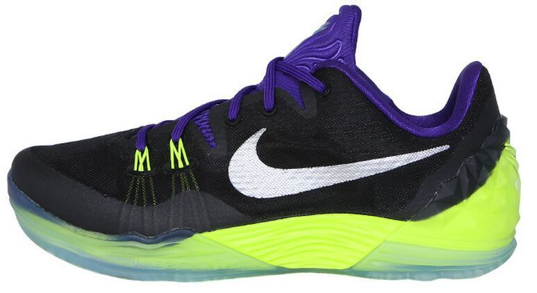 Nike Kobe Venomenon 5 Black Purple Fluorscent Sneaker