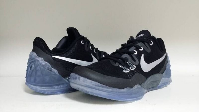 New Nike Kobe Venomenon 5 Black Blue Sole Sneaker