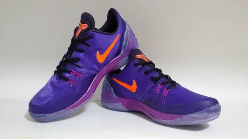 New Nike Kobe Venomenon 5 Purple Orange Sneaker