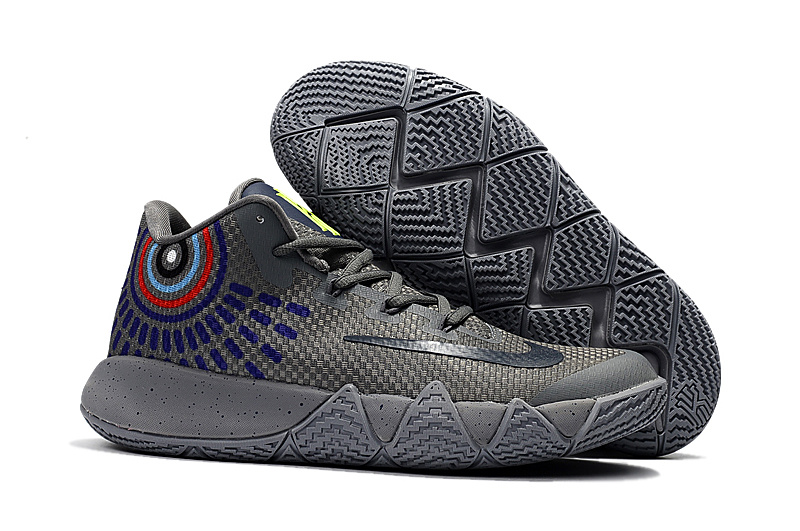 Nike Kyire 4 Wolf Grey Basketball Shoes