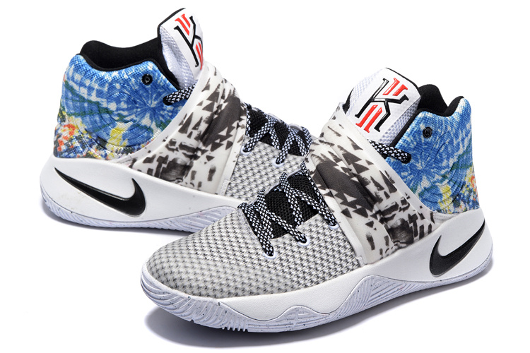 New Nike Kyrie 2 All Star White Black Blue Sneaker