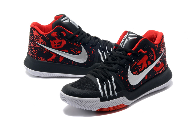 Nike Kyrie 3 Bruce Lee Black Red Shoes