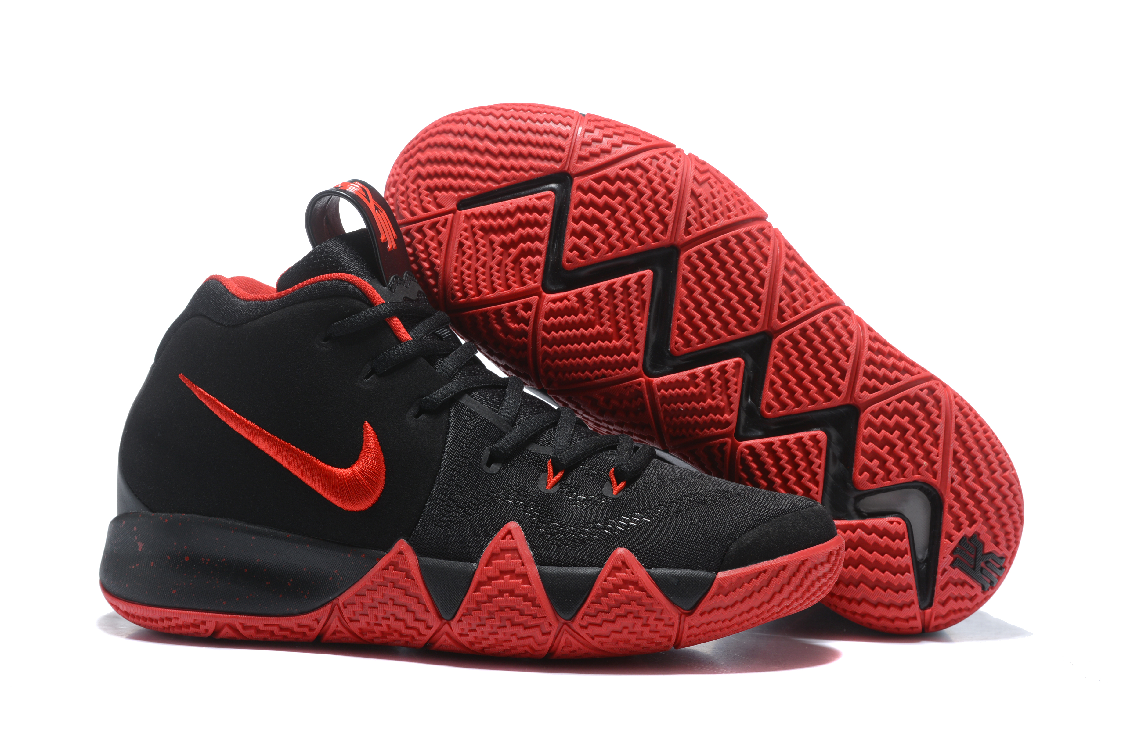 2018 Kyrie 4 Black Red Shoes For Sale