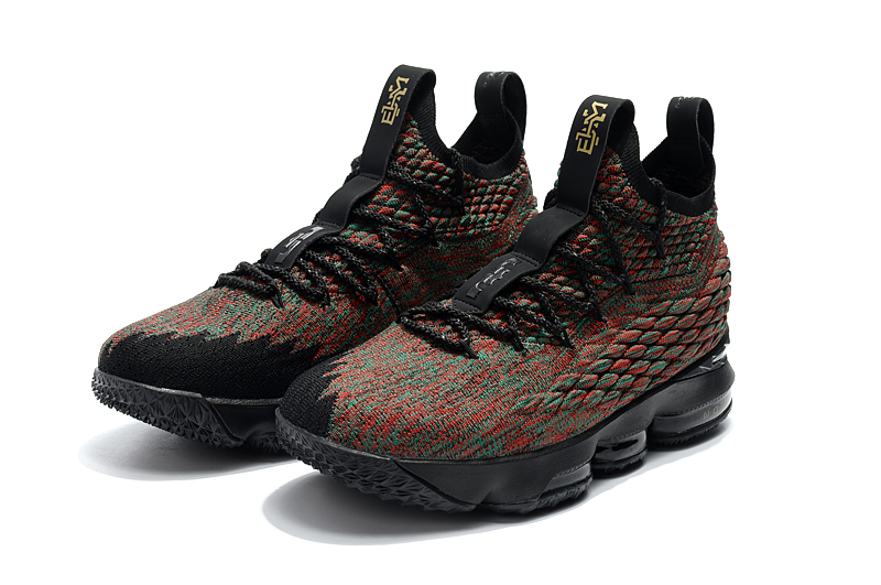2018 Lebron 15 The Black Month Shoes For Sale