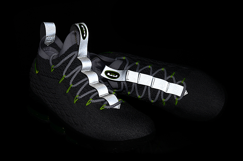 2018 Lebron 15 The Neon Lights Shoes For Sale