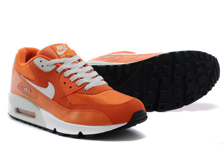 Nike Newly Air Max 90 Brown White Men Running Shoes