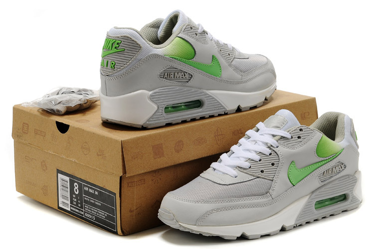 Nike Newly Air Max 90 Grey Lovers Running Shoes