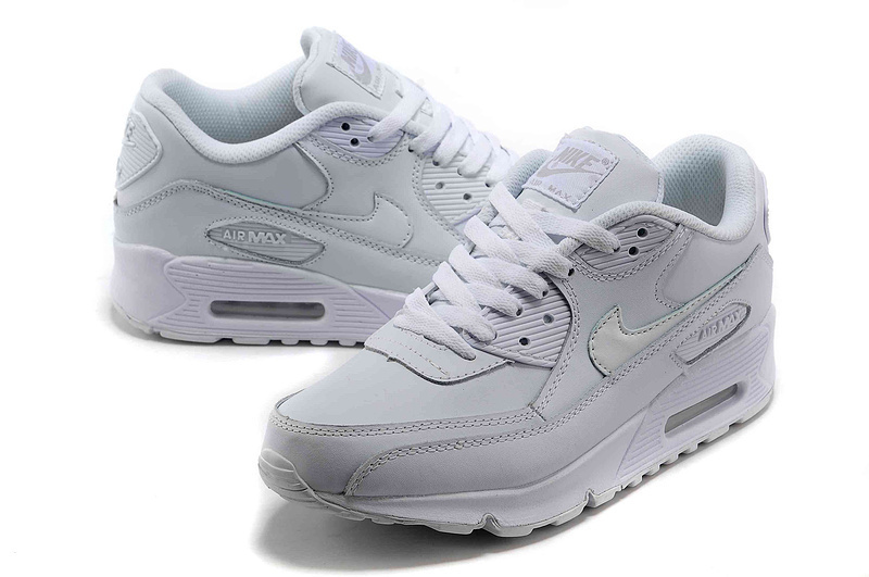 Nike Newly Air Max 90 Nature White Women Running Shoes
