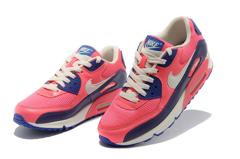 Nike Newly Air Max 90 Red Black Women Running Shoes