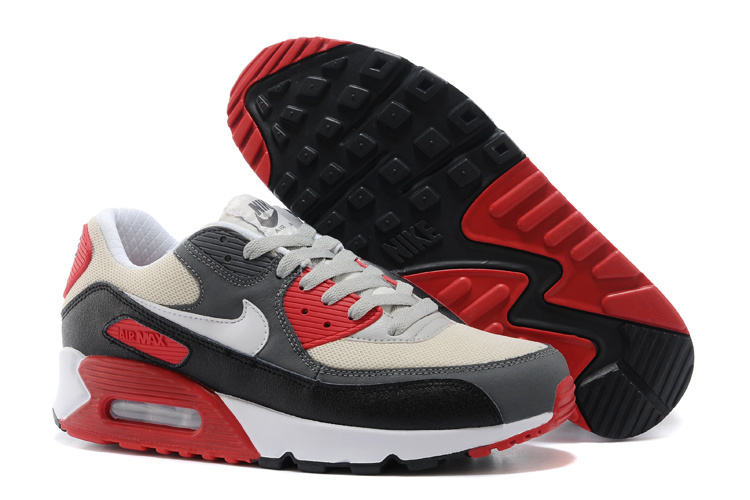 Nike Newly Air Max Grey Black White Running Shoes