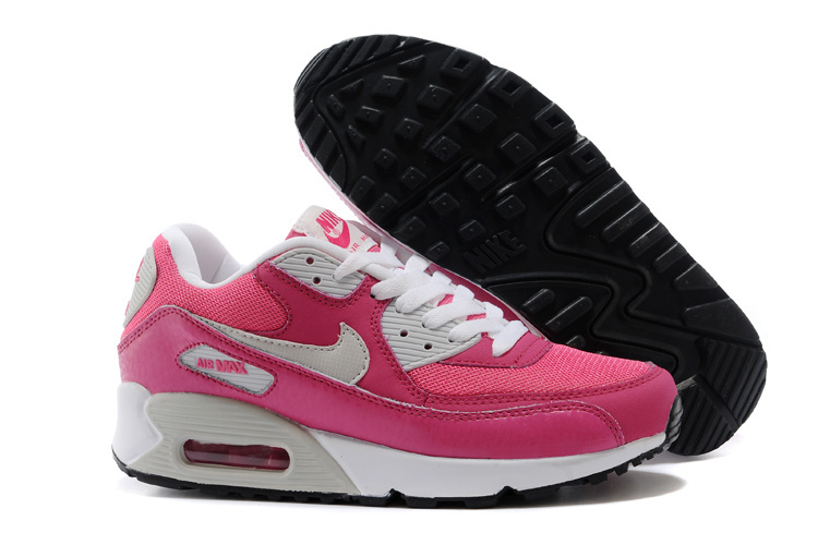Nike Newly Air Max Pink White Women Running Shoes