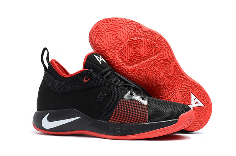 New Nike Paul George 2 Black Red Shoes For Sale