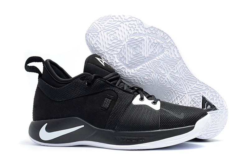 New Nike Paul George 2 Black White Shoes For Sale