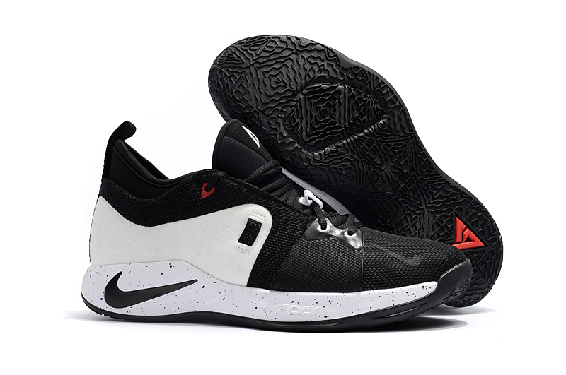 New Nike Paul George 2 White Black Shoes For Sale