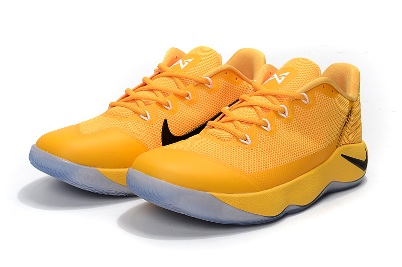 Nike Paul George 2 Yellow Black Shoes