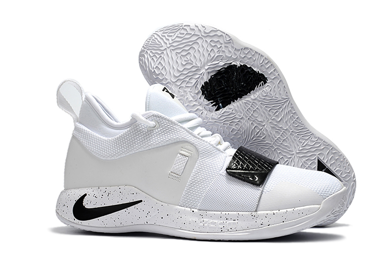 Nike Paul George 2.5 White Black Shoes For Sale