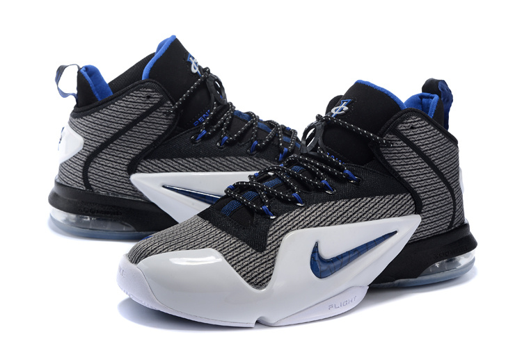 New Nike Penny Hardaway 6 Black Blue White Sneaker