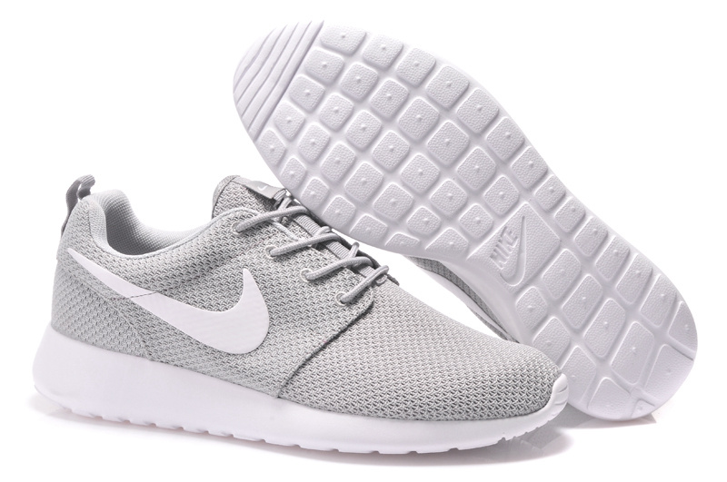 Nike Roshe Two Mesh Olympic Grey White Shoes