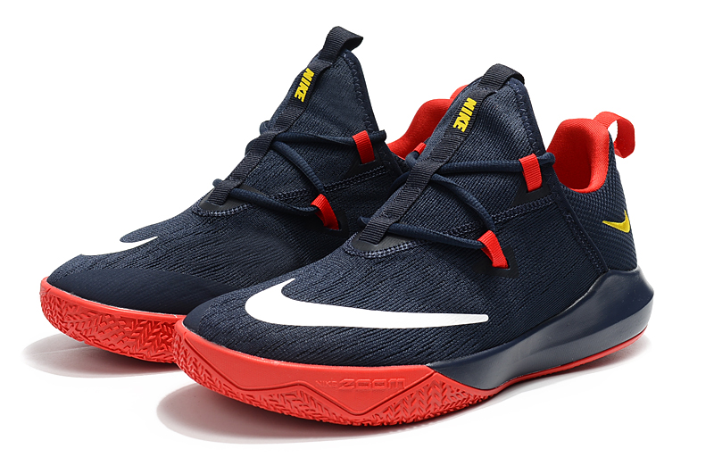 New Shift 2 Dark Blue Red Basktball Shoes For Sale