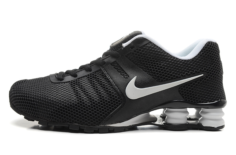 Nike Shox Black White Women Shoes