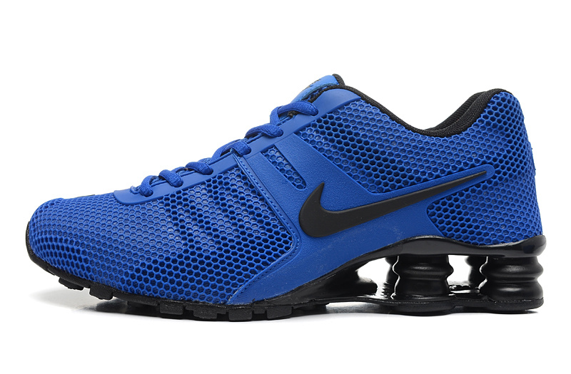 Nike Shox Blue Black Women Shoes