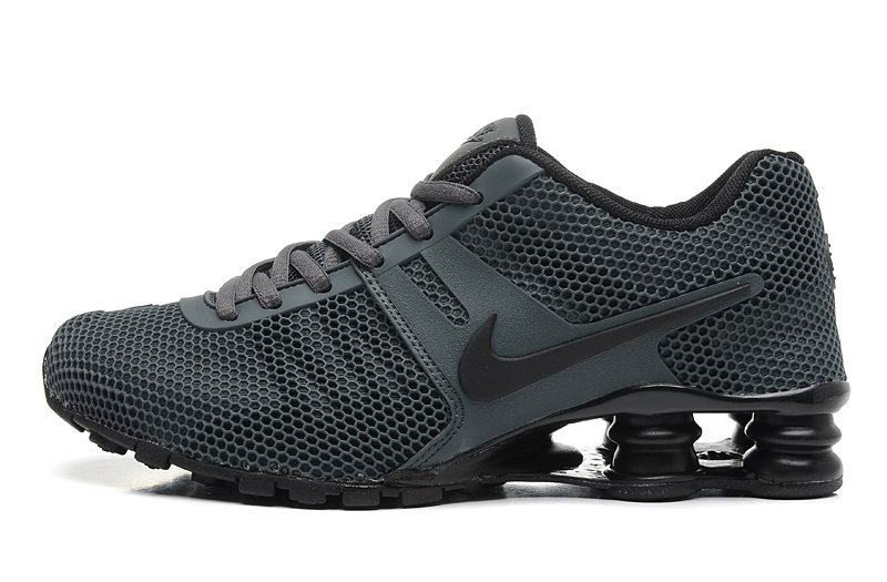 Nike Shox Carbon Black Women Shoes