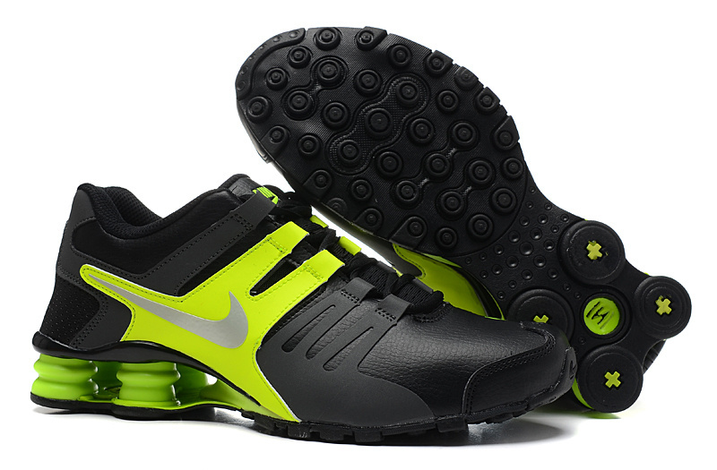 Nike Shox Current Black Green Shoes