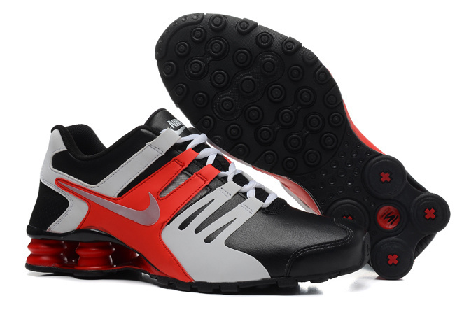 Nike Shox Current Black Red White Shoes
