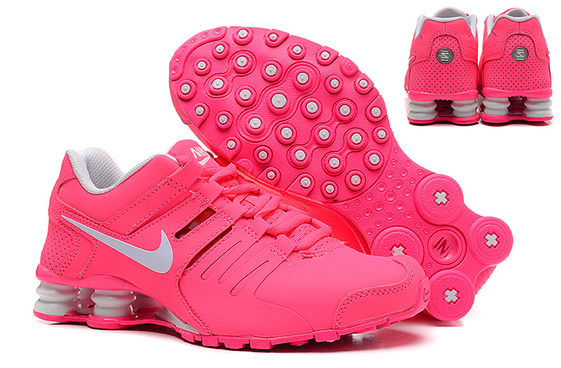 Nike Shox Current Peach Red White Women Shoes