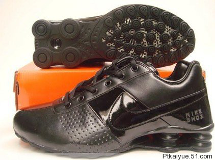 Nike Shox OZ D Black Lovers Shoes