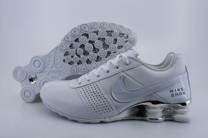 Nike Shox OZ D White Sliver Women Shoes