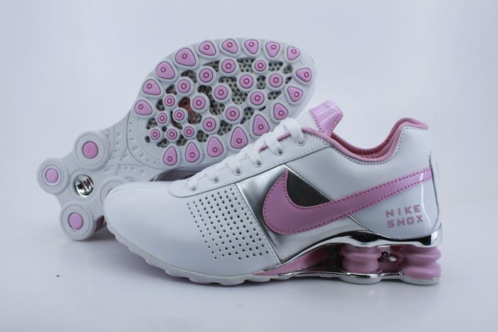 Nike Shox OZ D White Sliver Pink Women Shoes