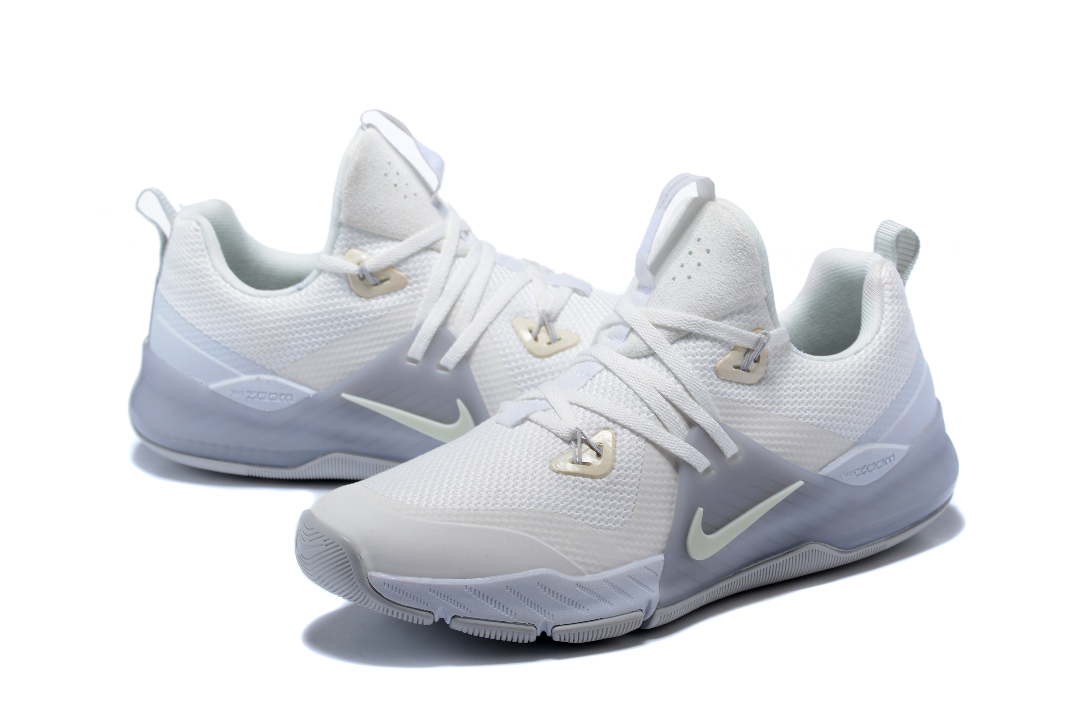 Nike Zoom 2 White Sliver Grey SHoes