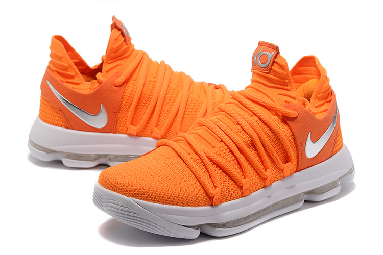 Nike Zoom KD 10 Orange Red Shoes