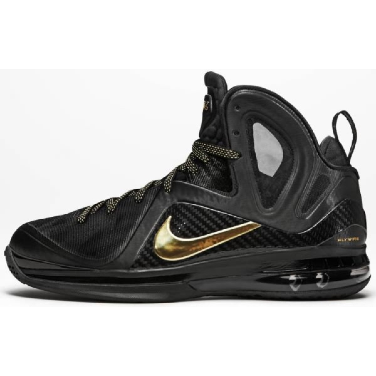 Nike Lebron 11 Air Max Black Gold Basketball Shoes