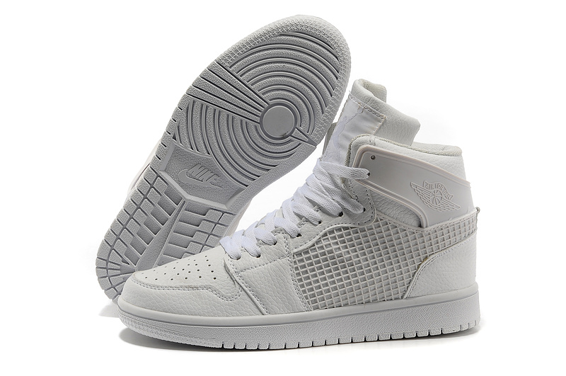 Original Air Jordan 1 Retro igh All White
