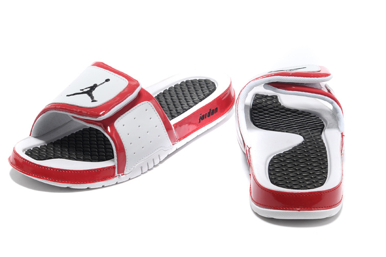 Original 2013 Jordan Hydro 2 Classic White Black Red Slipper