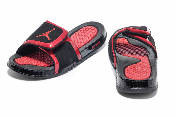 Original 2013 Jordan Hydro 2 Newest Black Red Slipper