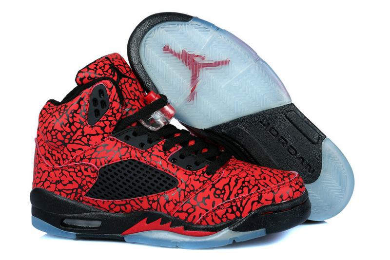 Original Air Jordan 3LAB5 Retro Red Black For Women