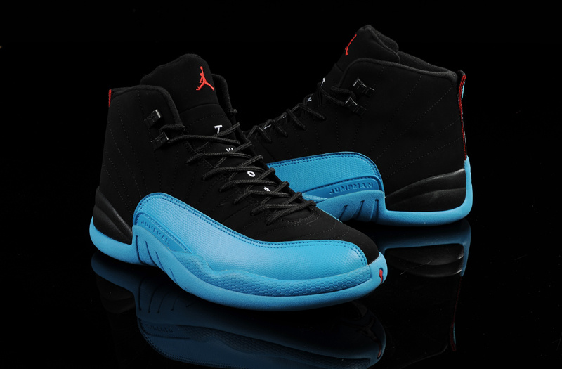 Original Air Jordans 12 Retro Gamma Blue