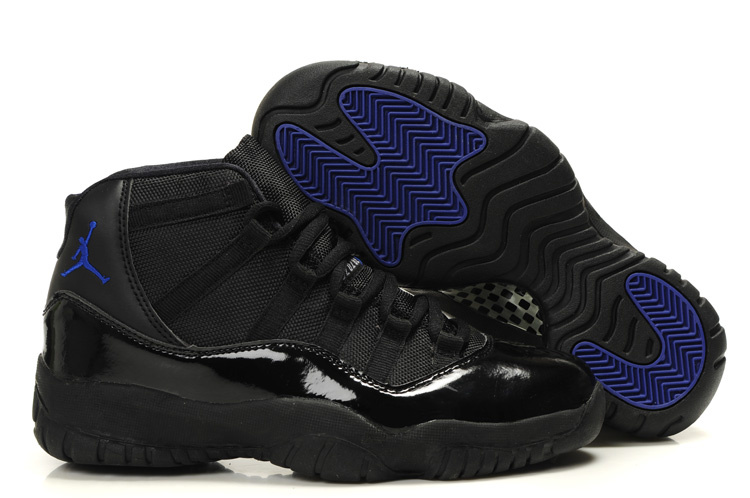 Original Air Jordans New 11 Black Blue_11